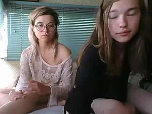 Teen and MILF shemales getting fucked for webcam