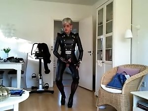sissy sexy leather spice girls 2