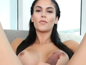 The gorgeous Domino Presley is back again with another sweet solo self-lovin scene. This beauty is simply full of sexual desire.The face is simply per